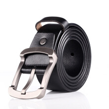SiYing Original imported fashion men's belt leisure retro pin buckle leather belt