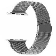 DELIVE Apple Watch Band 42mm Milanese Loop Band Stainless Steel Strap for iWatch 1/2/3