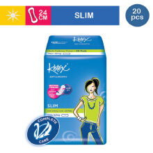 KOTEX Soft & Smooth Slim Non Wing - 20 S