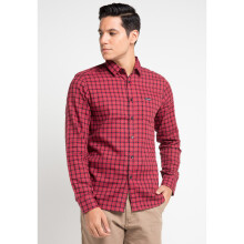 COTTONOLOGY Men's Shirt Austin Red