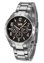 Lee Watch LEF-M33DSDS-1R Jam tangan Pria Silver