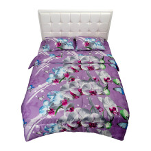 NYENYAK Butterflies Fitted Sheet - Purple