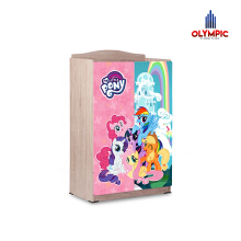 Olympic Baby Locker My Little Pony - Lemari Tempat Penyimpanan My Little Pony Multifungsi