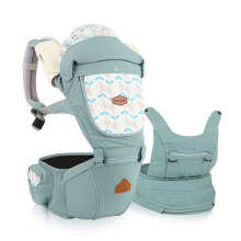 I-ANGEL Hipseat Carrier Miracle Powder - Blue