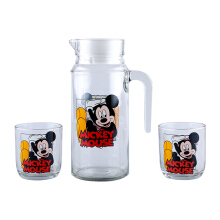 BRILIANT Disney Drink Set Mickey In Box Set Of 3 - GMC-1014