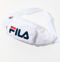 FILA Belt Bag - Color : white - One Size White