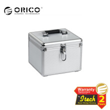 ORICO BSC35-10 Aluminum 2.5 / 3.5 inch Hard Drive Protection Box - Silver