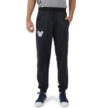 DISNEY Mickey Mens Long Pants - Black