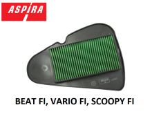 ASPIRA ELEMENT CLEANER - UNTUK MOTOR  BEAT FI, VARIO FI, SCOOPY FI (H2-17210-K16-1710)