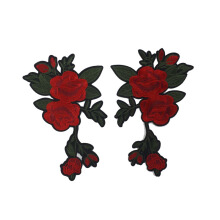 PATCH.INC Red Big Rose 24x13 cm [One Size]