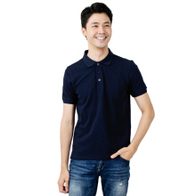 BESUTO Men Premium Polo - Navy Blue