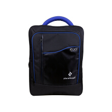 PlanetBagID Tas Laptop Backpack Pria Ppack 5.0 Polyester Black Blue Blue
