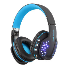 KOTION EACH B3507 headset gaming mobile phone tablet notebook wireless Bluetooth headset music game sports white blue