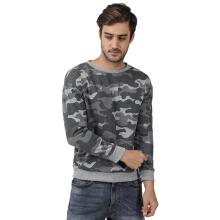 FOXTROT SIX Camo Sweater - Grey