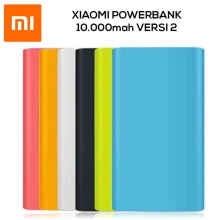 UniqueShop - Silikon / Silicon Case Powerbank Xiaomi 10000 mAh / KONDOM SILIKON - Hitam