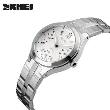 Skmei original ladies watch waterproof fashion trend compact retro quartz watch temperament elegant fashion watch female watch
