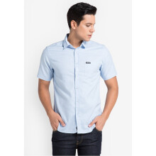 COTTONOLOGY Men's Shirt Hella Blue