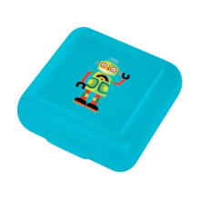 Crocodile Creek Sandwich Robot Lunch Box - Green