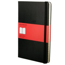 MOLESKINE Address Book Large QP064F - Black