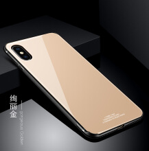 DELIVE For iPhoneX Cover Silicon Frame + Mirror Tempered Glass Back Cover For Apple Phone Case
