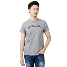 BESUTO Unisex Premium T-Shirt (Roundneck) Time To Wine Down - Misty Grey