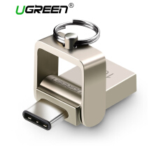 UGREEN 16GB USB 3.0 Type C OTG Flash Drive for Samsung S8 Samsung S9 Type-C Handphone & Tablets USB-C Flash Disk