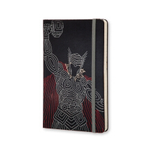 MOLESKINE The Avengers Limited Edition Notebook Large Ruled Hard Thor