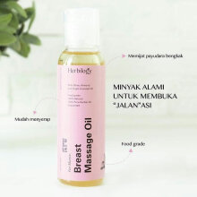 Herbilogy Breast Massage Oil