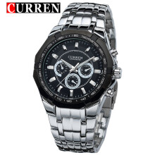 2018 New CURREN Quartz Watches Men Top Luxury Brand Military Sports Wrist watches Full Steel Watch
