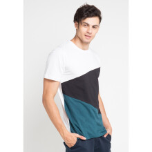 COTTONOLOGY Men's T-Shirt Triangle White