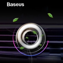 Baseus Aromatherapy Car Phone Holder Air Freshener Car Perfume for Auto Air Vent Purifier Fragrance Clip Diffuser Solid Perfume