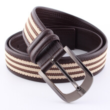 Nuoya original imported fashion men's belt new Korean version of the leather retro leather pin buckle belt
