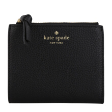 KATE SPADE Small Malea Mulberry Street Wallet Black [KSP01579A] Black