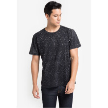 COTTONOLOGY Men's T-Shirt Spots Black