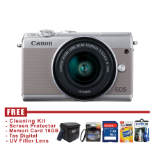 Canon EOS M100 Kit 15-45 IS STM - Grey