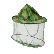 [COZIME] Insect Bee Mosquito Resistance Bug Net Mesh Head Face Protector Cap Sun Hat Camouflage1
