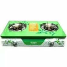 Turbo Kompor Gas 2 Tungku Turbo GS2088 - Hijau Green