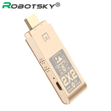 ROBOTSKY 1080P Dual Mode HDMI Adapter 2.4GHz Stable HDTV HDMI Converter Cable for Gold