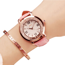 LSVTR Imported Original Fashion Ladies Watch Water Diamond Watch Korean Student Belt Watch