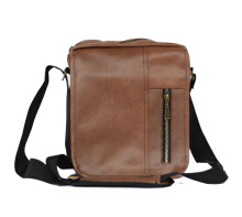 Murrell Tas Selempang Pria Waterproof Utta - Black Brown
