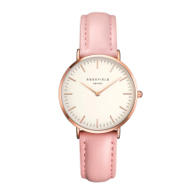 ROSEFIELD The Tribeca Rose Gold White Dial Watch with Pink Strap [TWPR-T58]