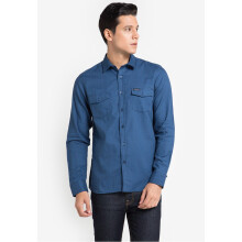 COTTONOLOGY Men's Shirt Downtown Blue