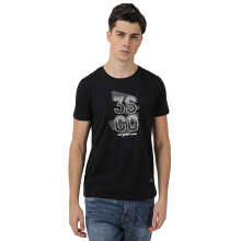 3SECOND Men Tshirt 0212 [102121812] - Black