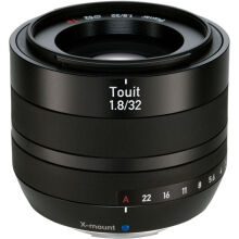 [free ongkir]Zeiss Touit 1.8/32mm X-Mount Fujifilm - Black