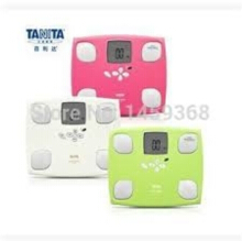 TANITA LIGHT WEIGHT BODY COMPOSITION MONITOR FITPLUS FEATURE BC G02 - Available in 3 Colors