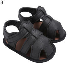 Farfi Baby Boys Anti-Skid Faux Leather Toddler Sandals Prewalker Shoes