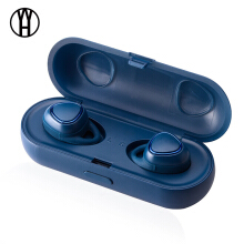 WH R150 earphone  Wireless Bluetooth headphones Sports Mini Headsets  with Charging Box for iphone Android