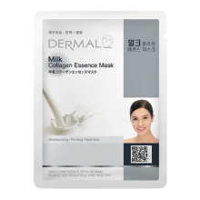 DERMAL Milk Collagen Essence Mask 23g