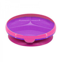 The First Years Inside Scoop Suction Section Plate 12m+ - Pink Purple