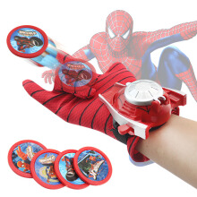 SiYing Marvel Anime Spider-Man Gloves Children's Toy Wrist Launcher